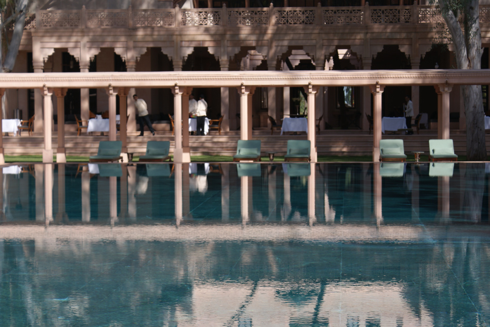 542Hotel Amanbagh. Rajasthan, India.