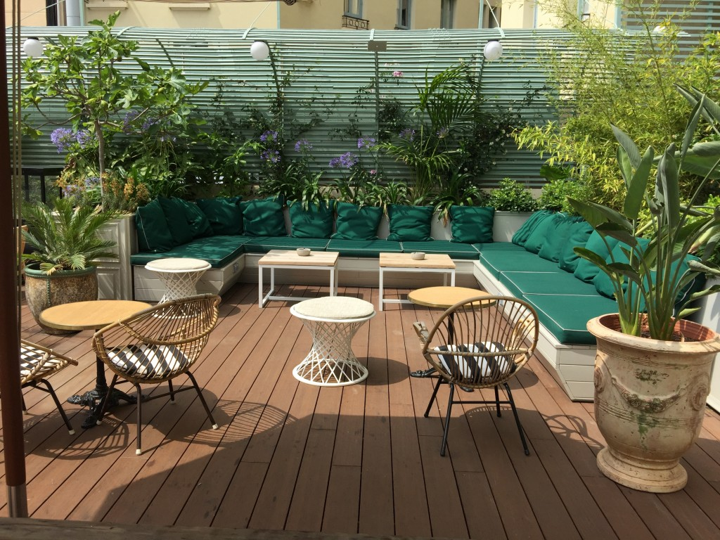 terraza Cotton House Hotel Barcelona