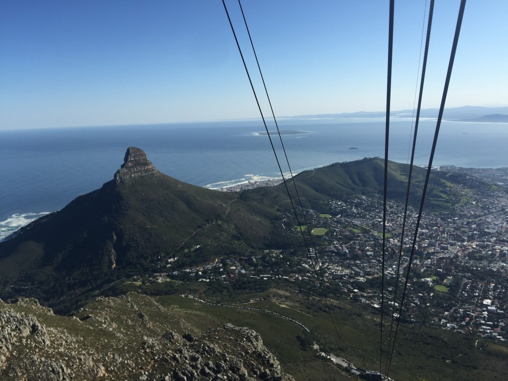 vistas desde Table Mountain